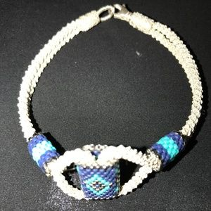 Handcrafted Pure Silver Bracelet